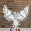 Vogel-Muster-Ineinander greifen-Stutzen-Stickerei-Spitze der Qualitäts-Oln15531 mit Baumwolle und Nylon