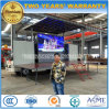 Тележка представления этапа Dongfeng 4X2 напольная Extendable с экраном СИД