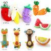 Juguete multi de la fruta de la felpa del animal doméstico de los productos del animal doméstico del estilo