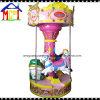 Giro del parco di divertimenti del carosello delle 3 sedi per i giri della rotonda del Kiddie