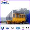 3개의 차축 수송을%s 평상형 트레일러 콘테이너 트레일러