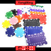 11.5g - 32g 찰흙/부지깽이 칩 스티커를 가진 주문품 각종 색깔 카지노 칩에서는 또는 로고 (YM-CP024-25)를 인쇄할 수 있다