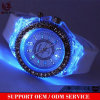 Yxl-698 pulsera de silicona luz intermitente Silicona LED Watch