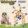 L'éducation en plastique ABS Kid's Toy des blocs de construction en plastique
