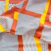 Tissu estampé par popeline de rayonne 45s 400*80 d'usine