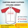 A equipe feita sob encomenda da bicicleta de montanha do desgaste da bicicleta que dá um ciclo Jersey para homens/mulheres Bicicleta ostenta Ropa de vestuário Ciclismo Maillot