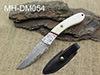 Cuchillo de caza de Damasco.