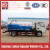 Dongfeng 하수 오물 흡입 유조 트럭, 5 Cbm 찌끼 트럭