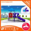 Kind-im Freienspiel-Geräten-Schule-Plättchen
