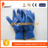Рабочие Перчатки Хлопчатые Защитные с Нитрилом (DCN426)
