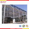 El Triple de policarbonato de pared paneles de efecto invernadero/Panel de techos de policarbonato de doble pared