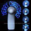 Förderndes Lighting herauf Message Mini Fan mit Logo Print (3509)