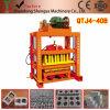 Bloco manual do cimento Qtj4-40 que faz a maquinaria para a venda