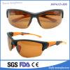 Las gafas de sol de encargo baratas del deporte del gradiente de la manera fresca de calidad superior polarizaron