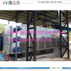 Continuamente macchina di riciclaggio di plastica dello scarto ad olio combustibile 30 Tpd