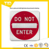 Traffic Safety를 위한 Enter Sign Reflective Label는