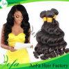 Tessuto brasiliano non trattato all'ingrosso dei capelli umani di Remy dei capelli del Virgin
