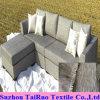 Linho de poliéster 100% para tecido de sofá