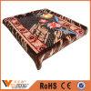 Одеяла Raschel Multi конструкции цветка теплые для домашнего тканья