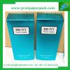 Rectángulo de empaquetado cosmético del petróleo esencial de los productos con la impresión de la insignia
