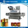 Volle automatische Nahrungsmittel-/Stau-Pasten-Soße/Gemüsevakuummit einer kappe bedeckende Maschine