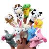 Doigt de marionnettes personnalisé un jouet en peluche personnalisé