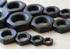 2016 Hot Sale noir mince les écrous hexagonaux, DIN439