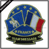 Form Flag Embroidery Badge für Clothing Accessory (BYH-10103)