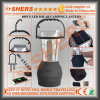 Portable Solar 60 LED Camping Lantern USB Outlet Swing Handle Hanging Hook