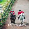 Pavés de caoutchouc recyclé pour chevaux et blocage de cheval