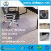 O plástico do PVC do protetor do assoalho de tapete da esteira da cadeira do escritório livra a proteção