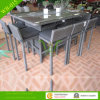 Rattan esterno Bar Set con High Table High Chair