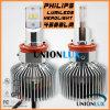 Lúmen elevado 9000 Lm 45W para faróis do diodo emissor de luz da Philips