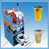 Tasse en plastique/concurrentiel de papier d'étanchéité de la machinerie d'emballage de la machine