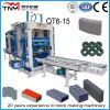 Machine de fabrication de brique complètement automatique de technologie allemande Qt6-15