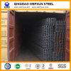 Canal de acero del canal U Ss400 de China