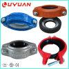 FMの承認の延性がある鉄の適用範囲が広いカップリングおよび溝がある管付属品