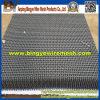 明白な織り方の耐食性のひだを付けられた金網
