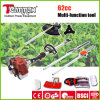 62cc 4 in strumenti di 1 della benzina giardino multifunzionali della cesoia per tagliare le siepi