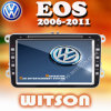 De Speler van Witson DVD voor VW EOS W2-D9235V van de Auto