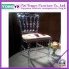 Mobilier de restaurant usagé (avec coussin) / Chaise de salle à manger en acrylique / banquet Chaise Napoleon