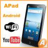 Android Apad компьтер-книжка экрана касания 7.0 дюймов миниая с камерой