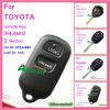 Verre die Sleutel voor Toyota met 2 Knoop 314.4MHz voor de V.S. Fccid Hyq12bbx wordt gebruikt