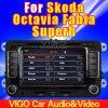 '' Coche GPS estéreo de HD Co6.5 para la cámara de interior magnífica de Skoda Octavia Fabialor IR (TGL-A727F)