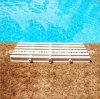 Grata di plastica di overflow della piscina, griglia del filtro del raggruppamento