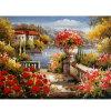 Het Olieverfschilderij van het Landschap van de indruk voor de Decoratie van het Huis