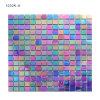 Azulejos de mosaico de cristal coloridos iridiscentes de la buena calidad para la pared