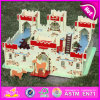2015 nuovo Mini Wood Castle Molds Toy, Fancy Wood Castle Molds Toy, Wooden Castle Molds Toy per Baby W06A121