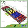 Rechteckiges Trampoline Bed mit Safety Nets