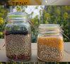 700ml Kruik van de Thee van het Gedroogd fruit van het Glaswerk van de Kruik van het Glas van de Opslag van de Keuken van Ikea de Fles Verzegelde Grote